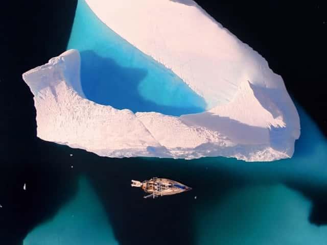 La Antártida a vista de drone