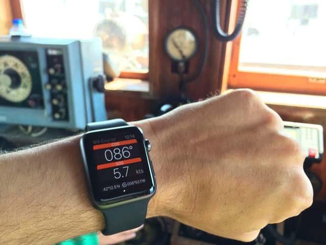 WX Course de Marinus, la app para navegar con el Apple Watch