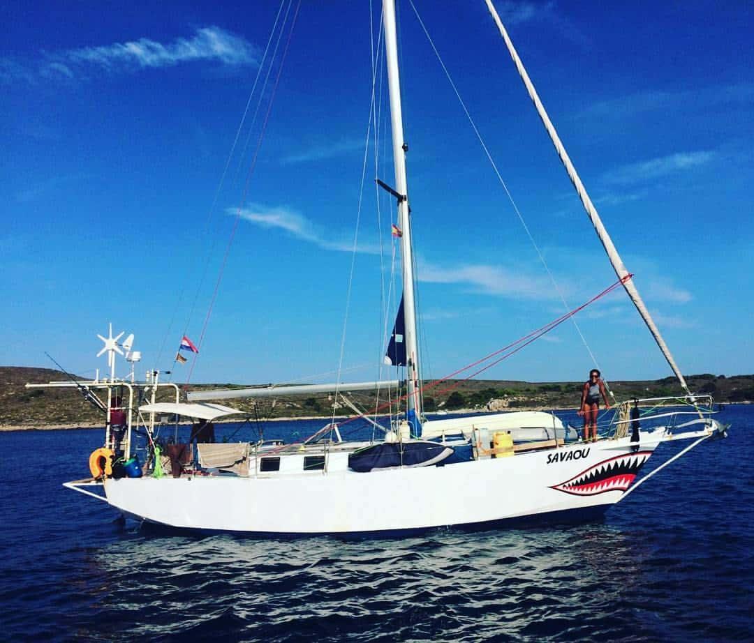 Navegant pel Món, el sueño de dar la vuelta al mundo en velero de una pareja mileurista