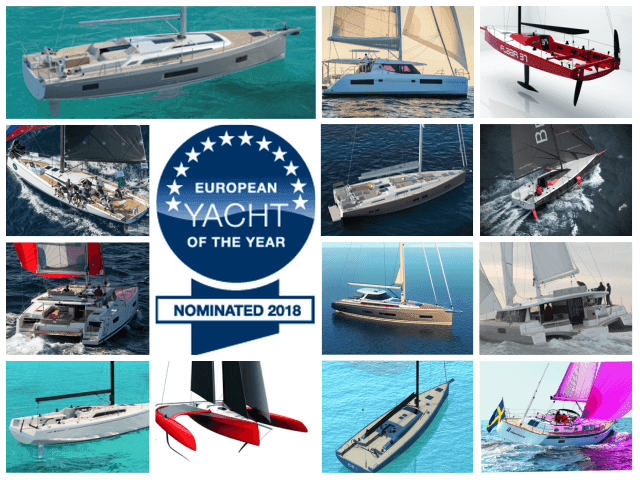 European Yacht of the Year 2018, los nominados