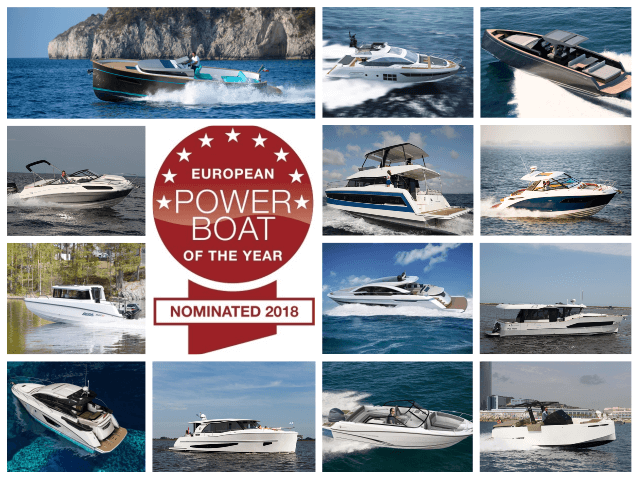 European Power Boat of the Year 2018, estos son los nominados