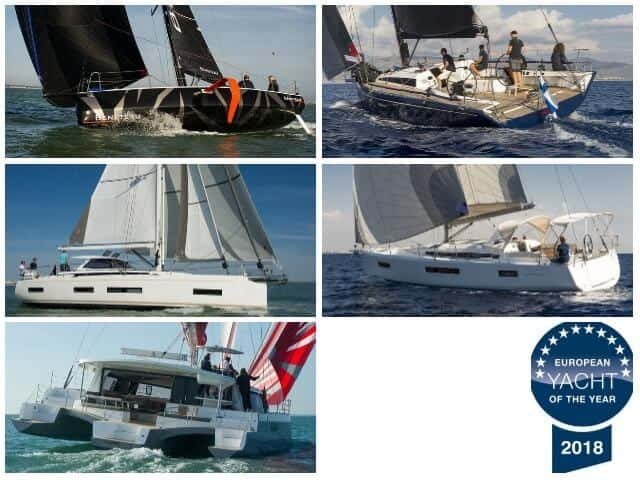 European Yacht of the Year 2018, los 5 ganadores