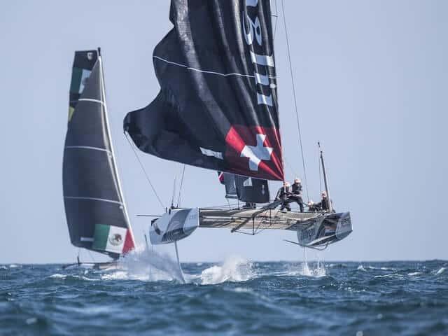 Alinghi gana el Acto 3 de las Extreme Sailing Series en Barcelona