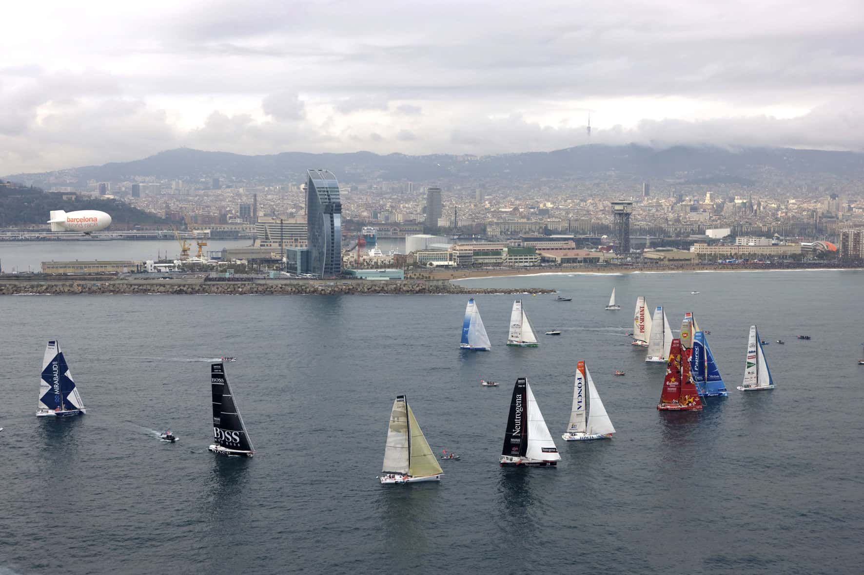 Aprobados los incentivos fiscales para el patrocinio de la próxima Barcelona World Race (2022-2023)