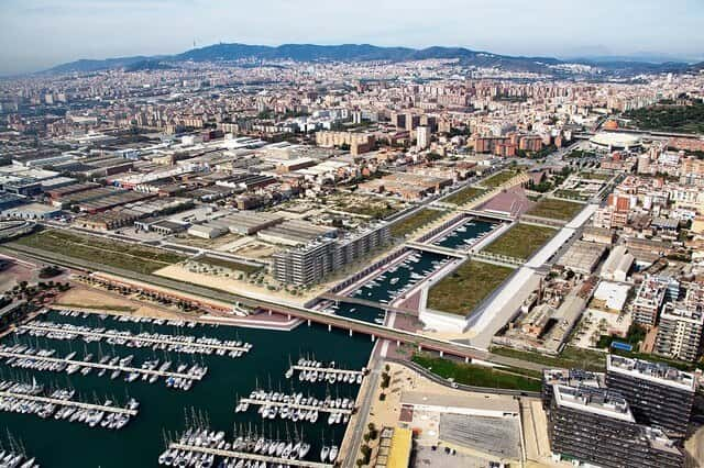 Marina de Badalona en el Festival d'Arquitectura 48h Open House Barcelona