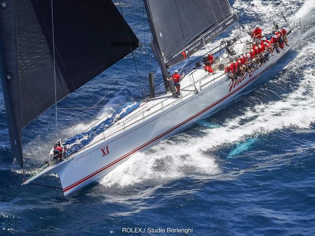 74th Rolex Sydney-Hobart, los años no pasan para WILD OATS XI