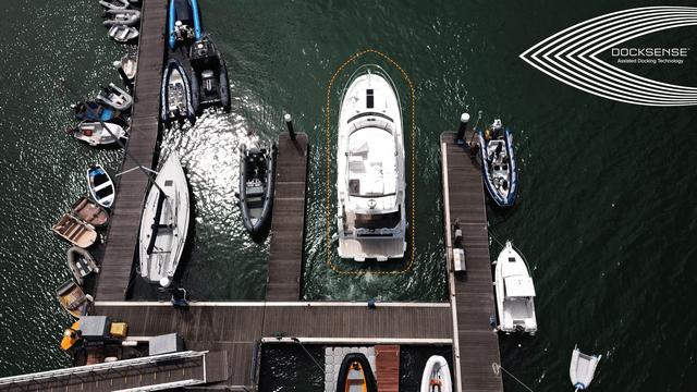 Raymarine DockSense, nueva tecnología de atraque asistido de FLIR