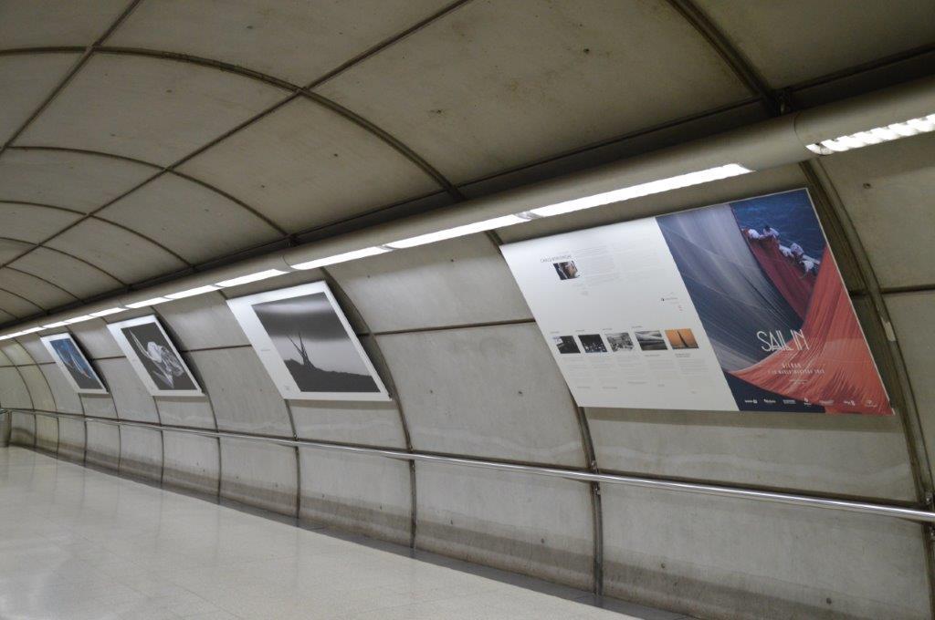SAIL IN Festival, la fotografía de Carlo Borlenghi ilumina Metro Bilbao