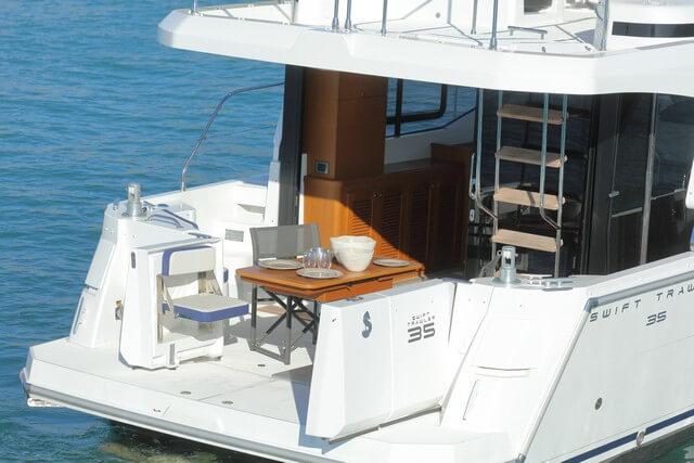 Bénéteau Swift Trawler 35 popa
