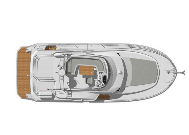 Bénéteau Swift Trawler 35  plano cubierta