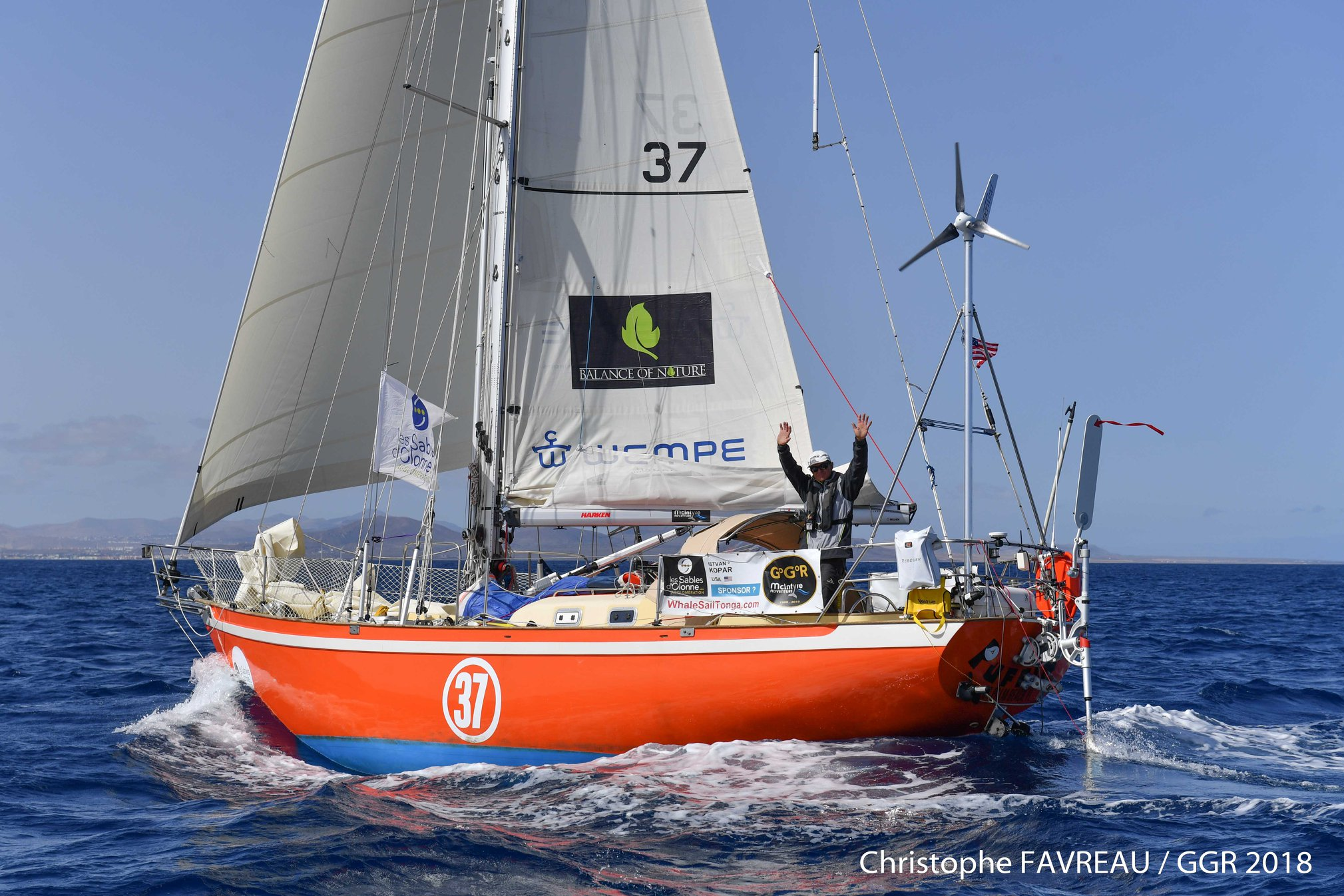 Golden Globe Race Van Den Heede