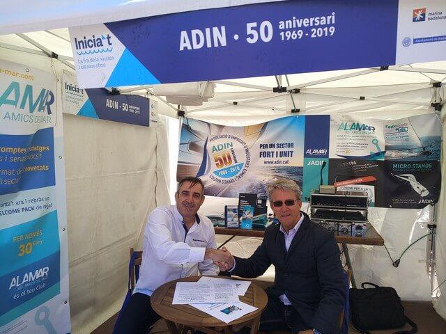 ADIN y El Seguro de mi Barco firman un convenio