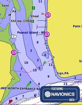 Cartas de navegación Cartografía Garmin BlueChart g3 y BlueChart g3 Vision