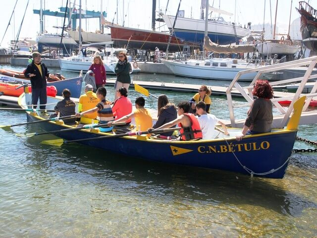 4ª edición de Inicia't salidas a navegar bautizo de mar badalona