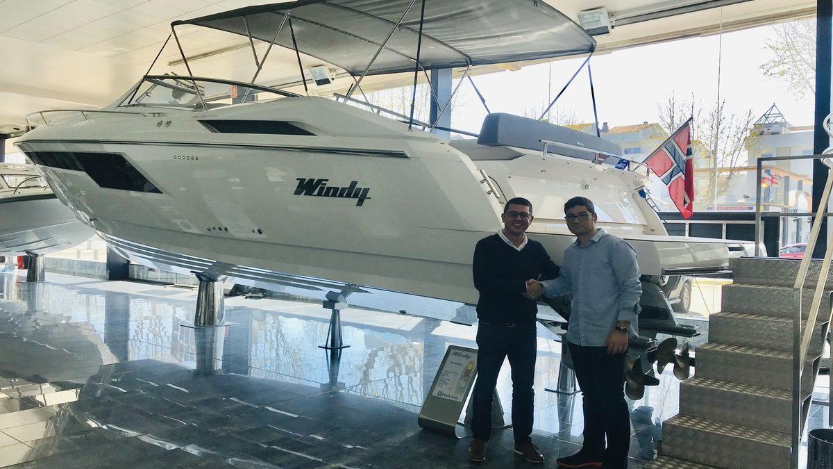 Island Yachts Brokernuevo distribuidor de Windy en Menorca
