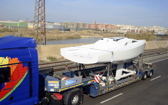 MMW 33 transporte velero
