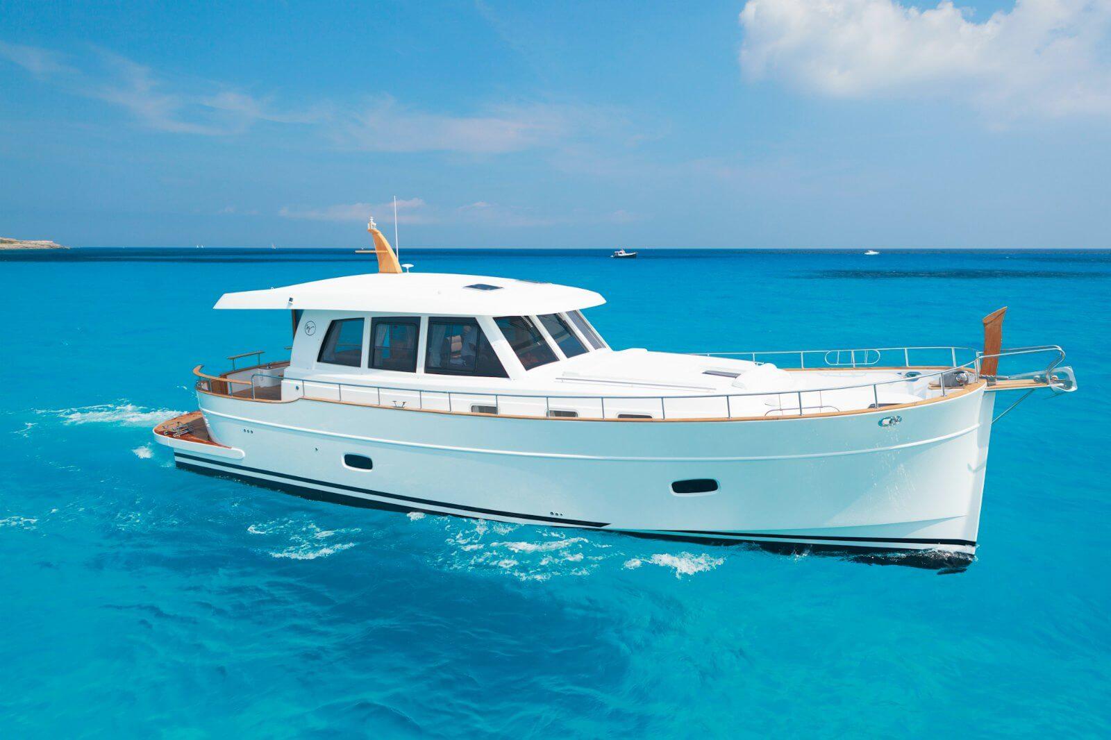 Menorquín 54 HT de Sasga Yachts presente en el Salón Náutico de Croacia