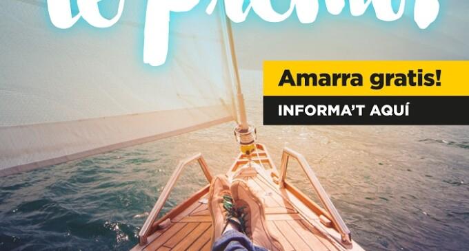 Vuelven las noches gratuitas de amarre con el 'Navegar tiene Premio. Amarra gratis!' de la ACPET