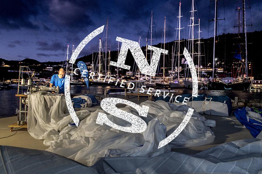 Servicio a domicilio para Superyates de North Sails