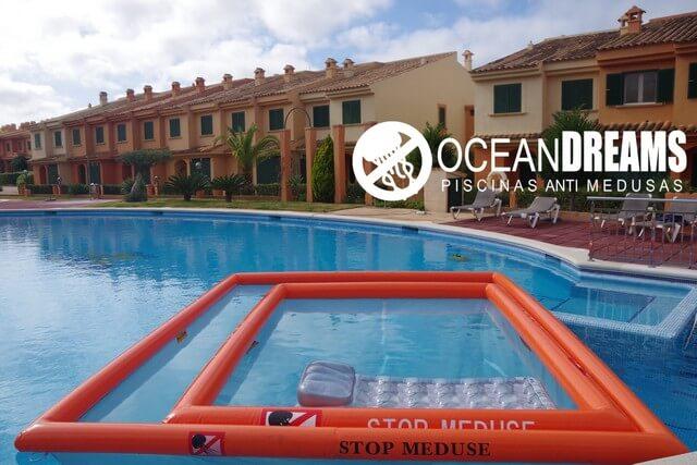piscina oceanDreams sistema de protección anti- medusas