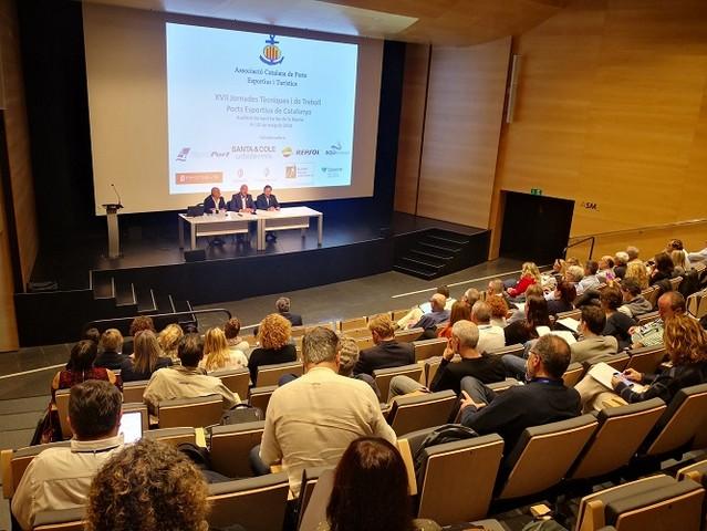 Damià Calvet clausura las XVII Jornadas Técnicas de los Puertos Deportivos de Cataluña