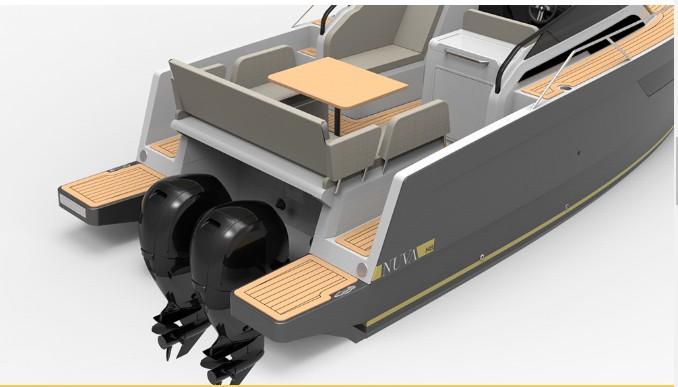 Nuva M8 de Nuva Yachts motores fueraborda