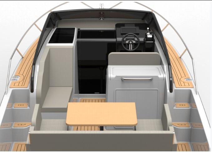 Nuva M8 de Nuva Yachts cubierta