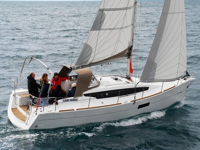 Sun Odyssey 319, comenzar con buen pie