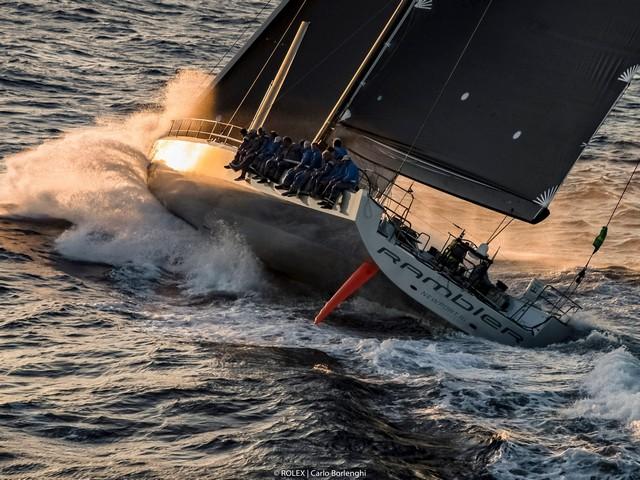 El Maxi 72 Caol Ila R de Alex Schaerer gana la Rolex Giraglia 2019