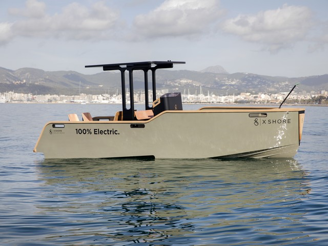 X Shore, el barco eléctrico del futuro