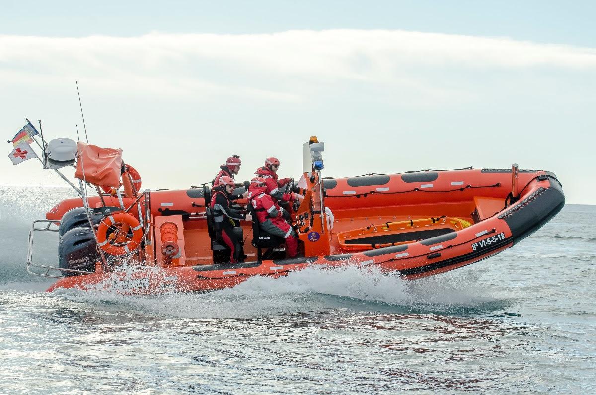 Vanguard TX-860 OB,  la nueva semirrígida Vanguard para Cruz Roja de Alicante