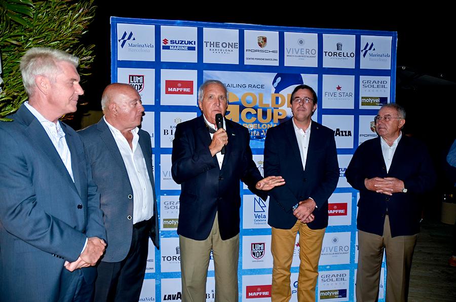 Presentada la Golden Cup Barcelona Marina Vela