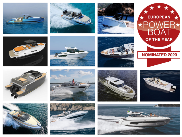 European Power Boat of the Year 2020, estos son los nominados