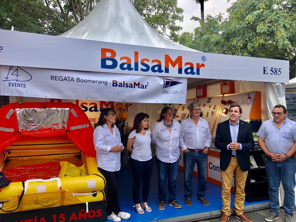 Presentada la 2ª edición de la regata Boomerang Balsamar