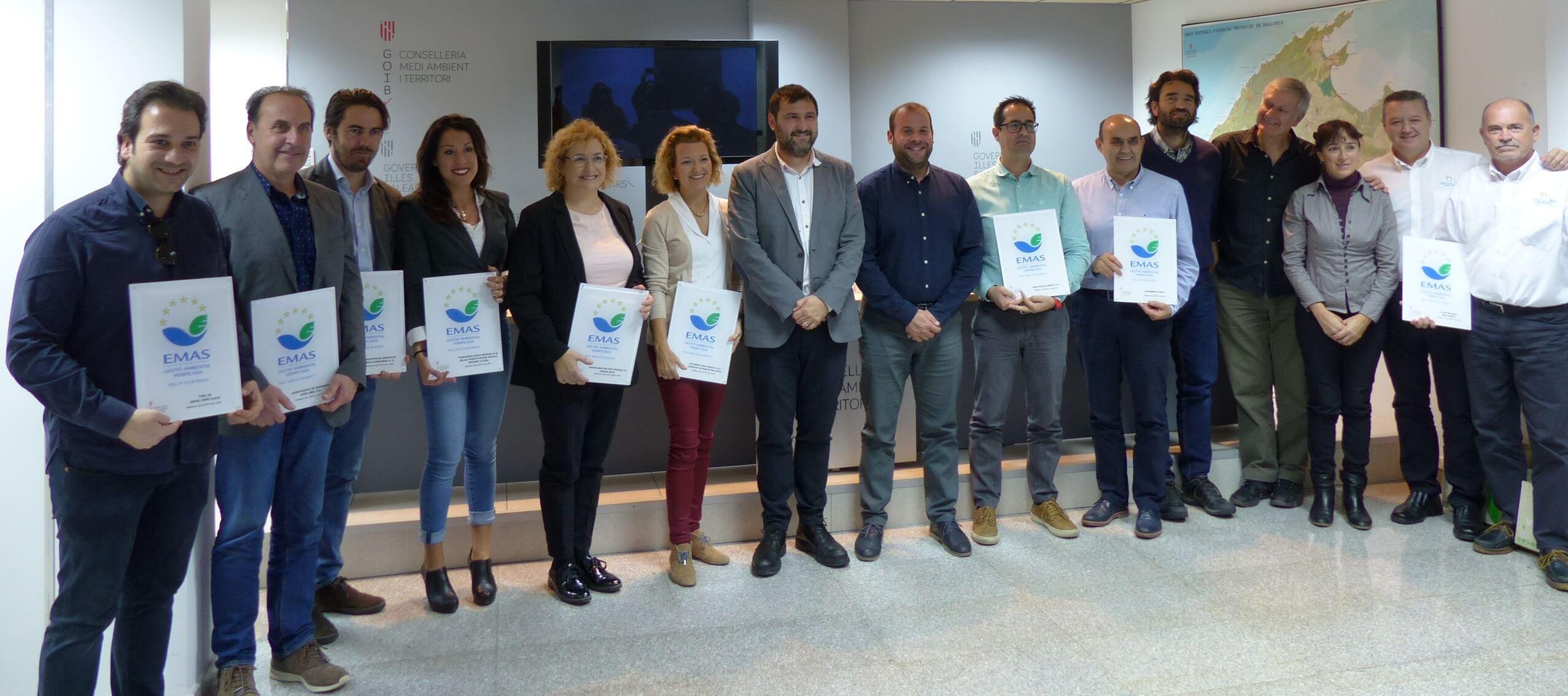 Marina Ibiza renueva el galardón EMAS