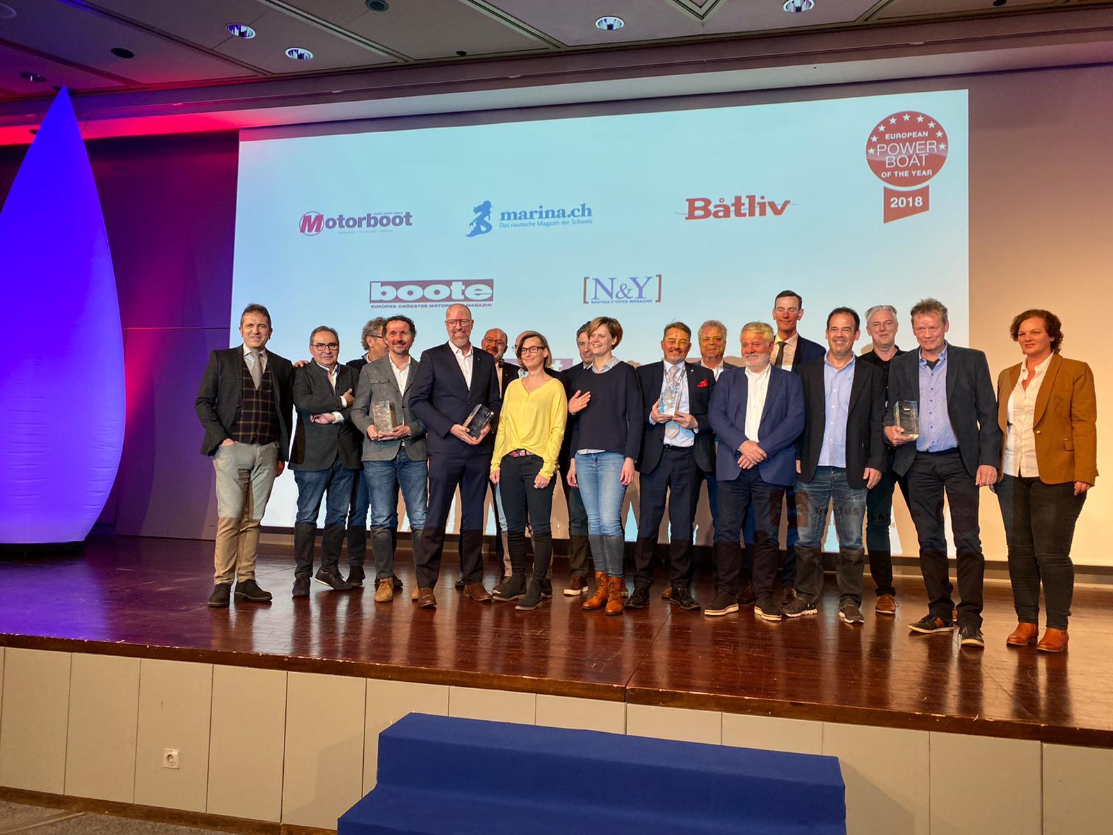 Los ganadores del European Power Boat of the Year 2020
