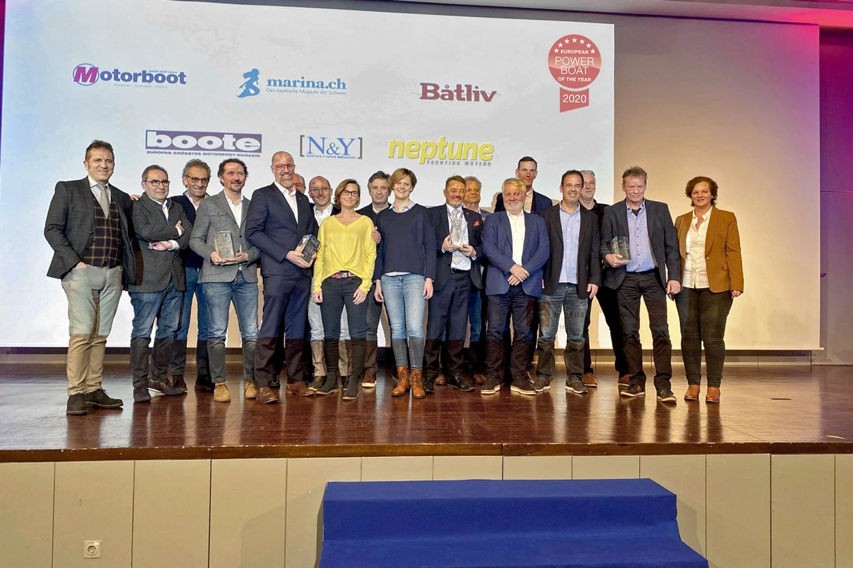 Los ganadores del European Power Boat of the Year 2020