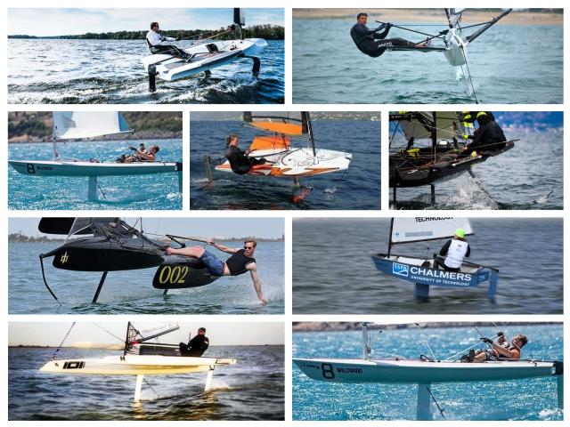20 barcos a vela con foils que te harán volar