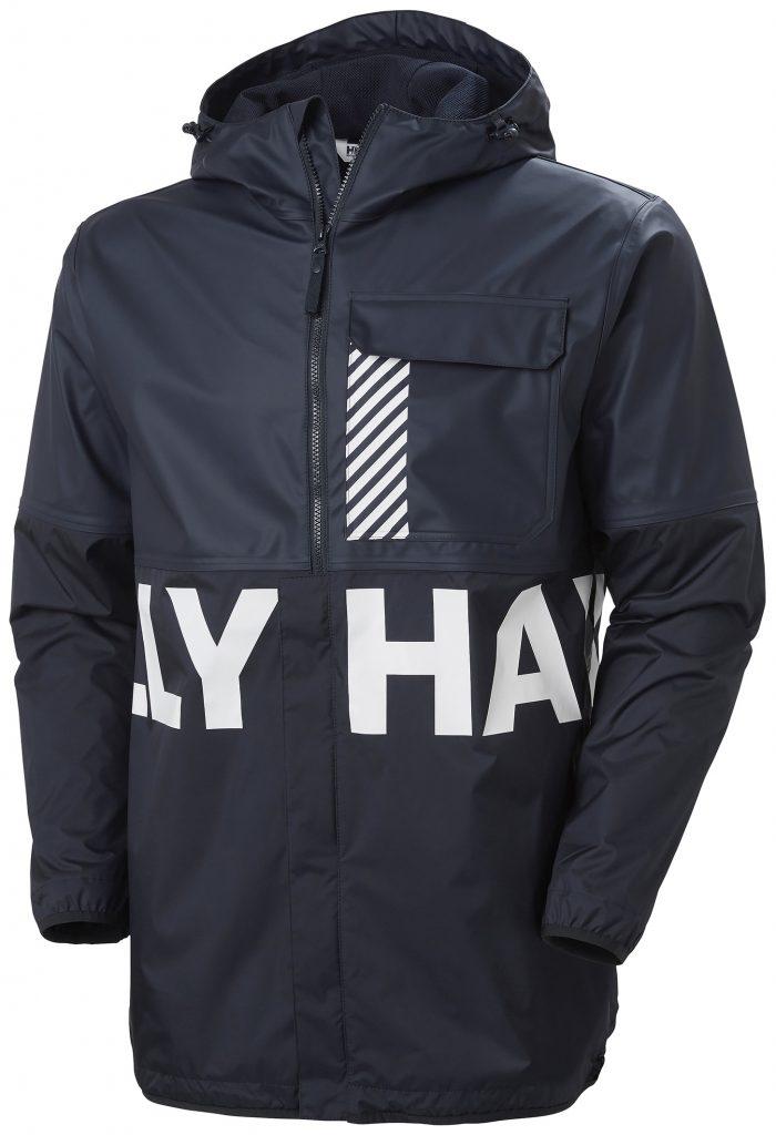 Tecnologías de calidad profesional y diseño purista para la Helox Active PU Jacket