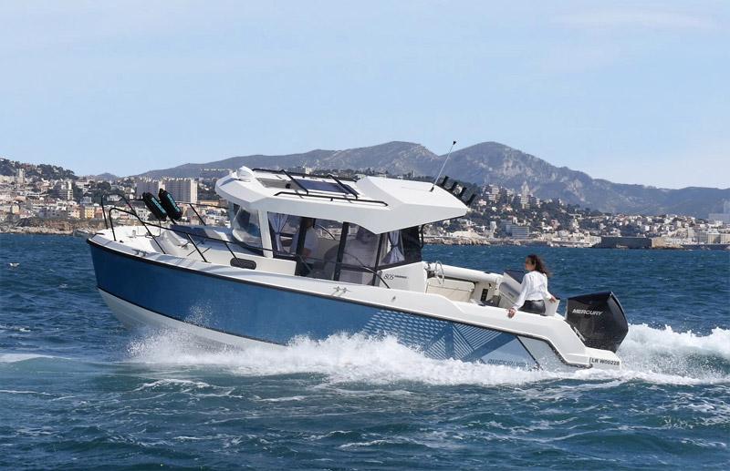Quicksilver 805 Pilothouse: redefiniendo la pesca