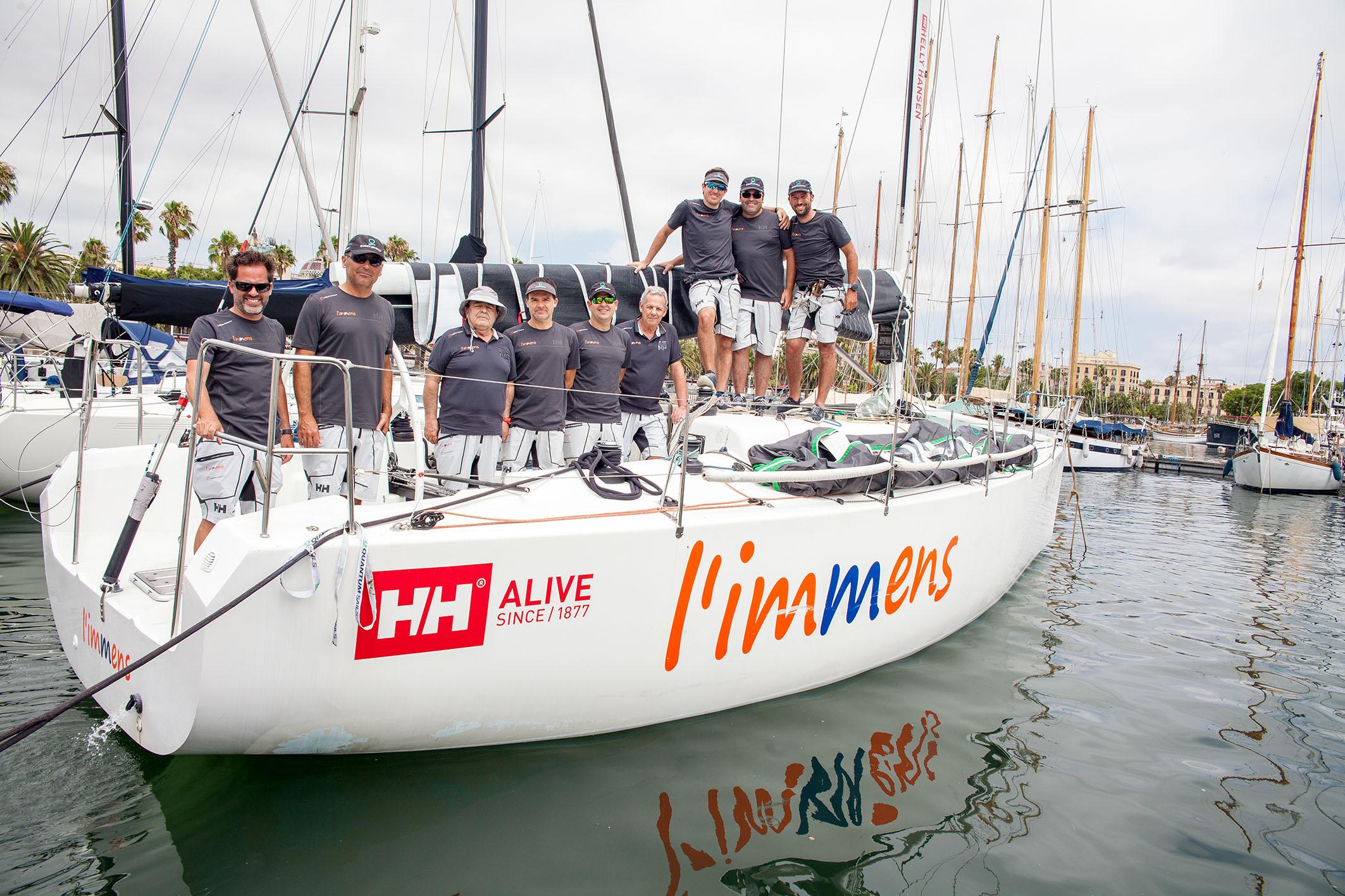 L'Immens HH gana el Trofeo de vela Conde de Godó por cuarto año consecutivo