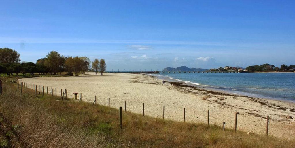 Playa de O Vao galicia
