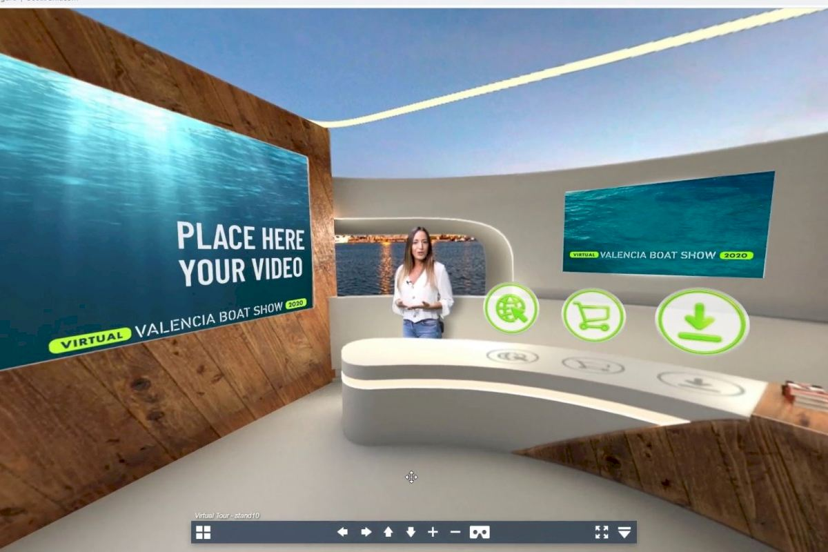 Así serán los stands interactivos del nuevo Virtual Valencia Boat Show