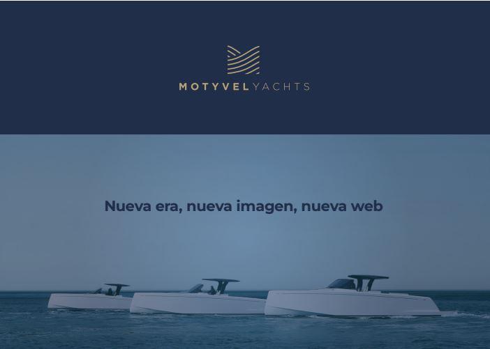 Motyvel Yachts estrena identidad corporativa