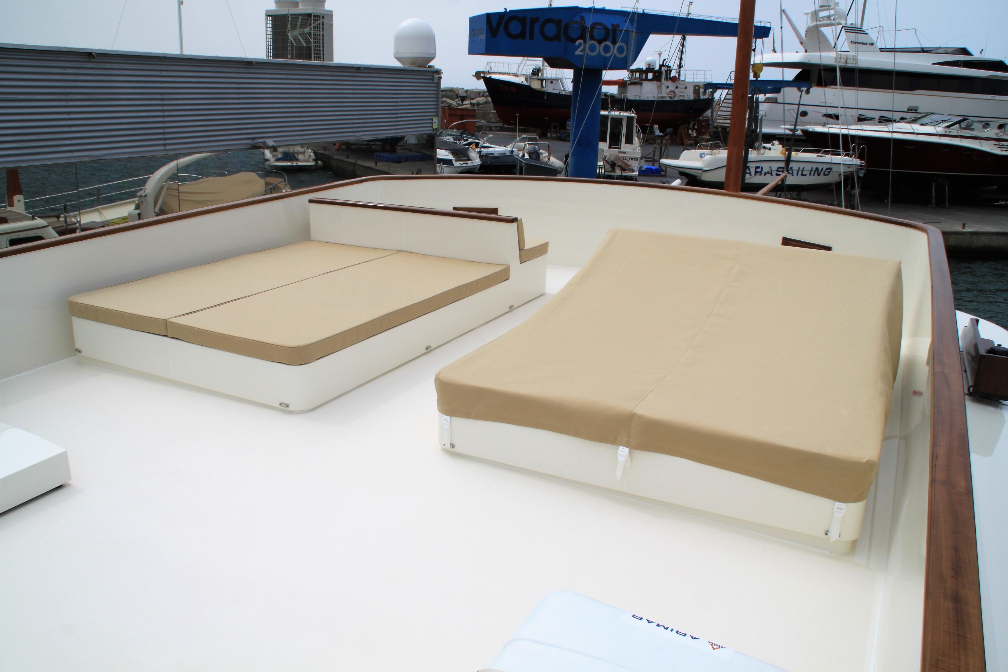 Varador 2000 incorpora un nuevo taller especializado en tapicería náutica en su shipyard