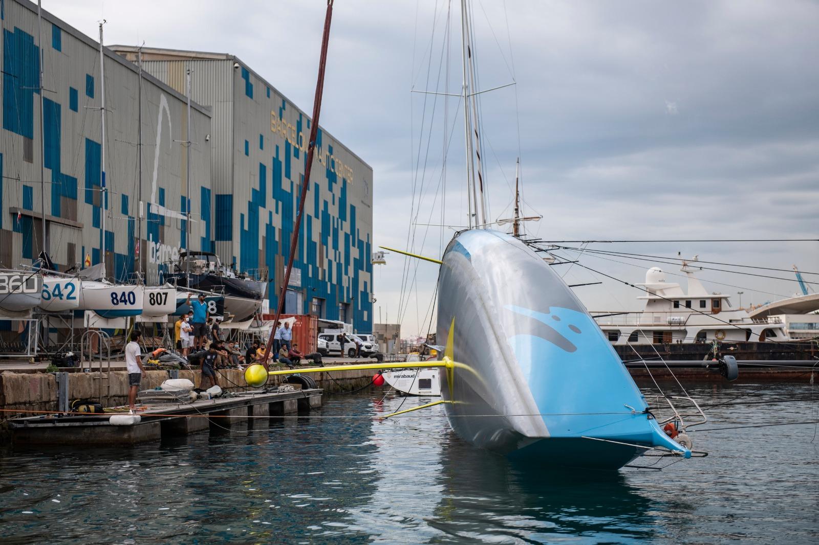 El One Planet One Ocean supera su última prueba y Didac Costa invita a sponsors a unirse al proyecto