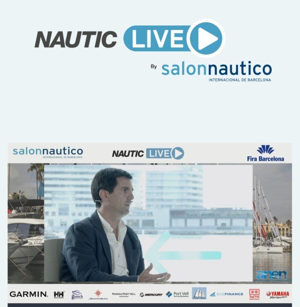 evento online Nautic Live, organizado por el Salón Náutico Internacional de Barcelona