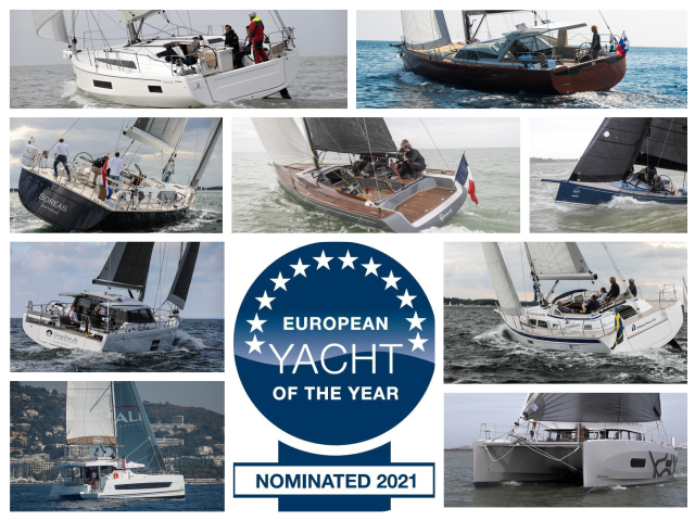 European Yacht of the Year 2021, excelente cosecha en crucero familiar y de altura