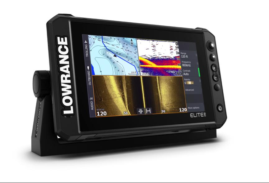 Nueva serie de sondas Elite Fishing System de Lowrance