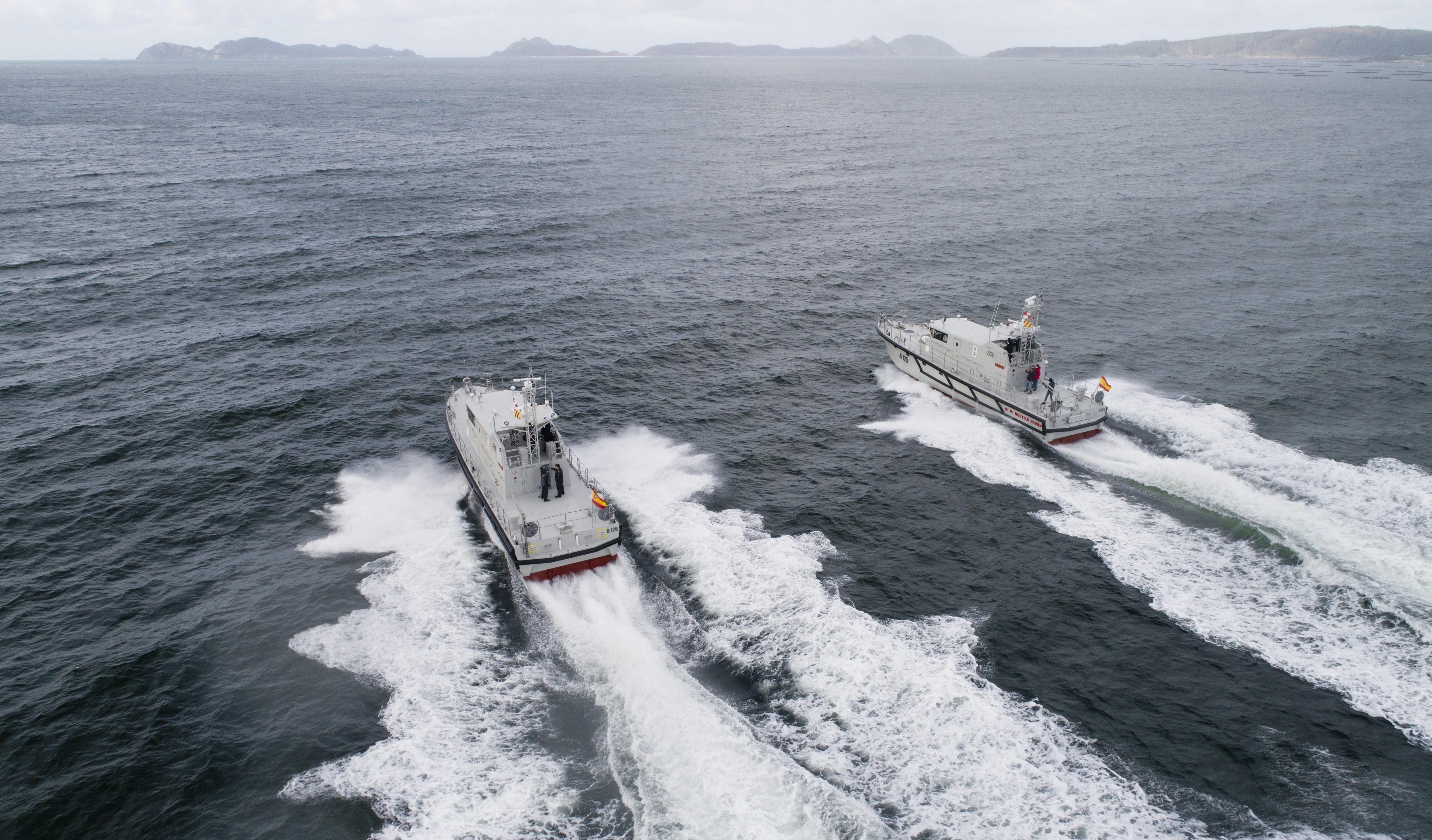 Rodman entrega dos lanchas de instrucción, del modelo Rodman  66, a la Armada Española